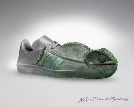 Креативные кроссовки (8 фото)