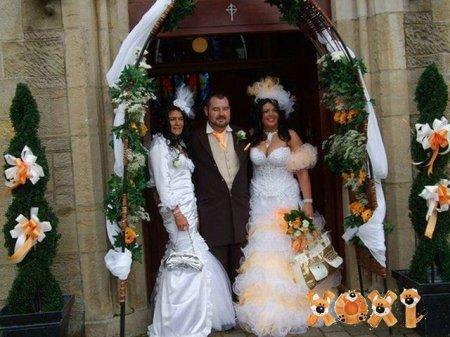 Большая, очень большая свадьба