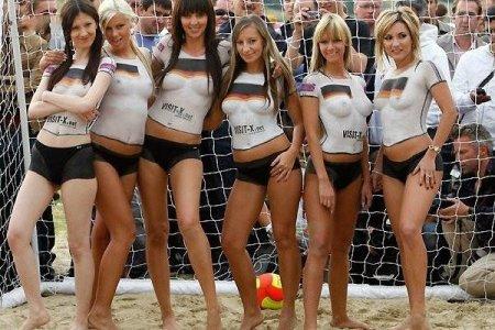 Бодиарт футбольный