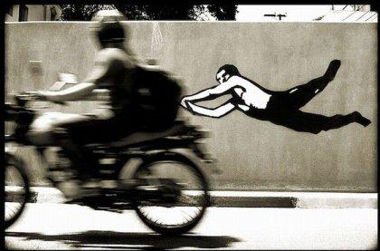 Оживленное граффити