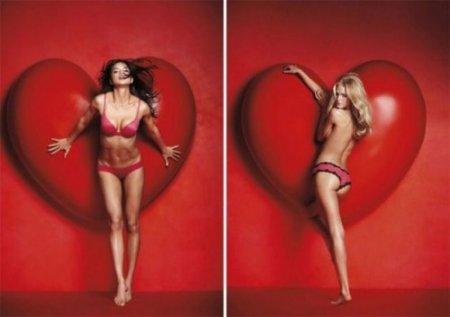 Валентинки от Victoria's Secret