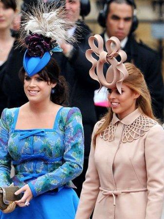 Шляпки королевской свадьбы