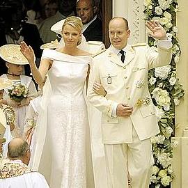 Лучшие наряды гостей на свадьбе в Монако