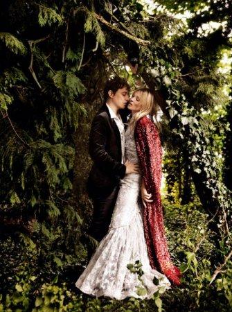 Свадьба Кейт Мосс в Vogue