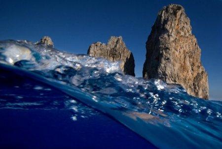 Полуподводная фотосессия от Alessandro Catuogno