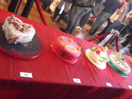 выставка тортов фото