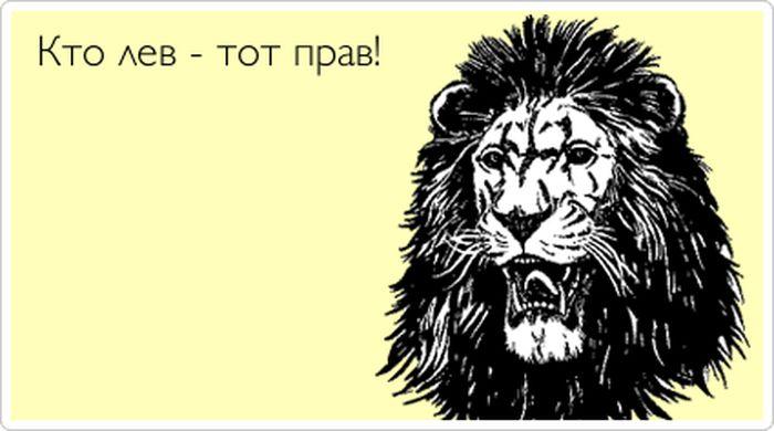 Поздравление начальнику льву 27