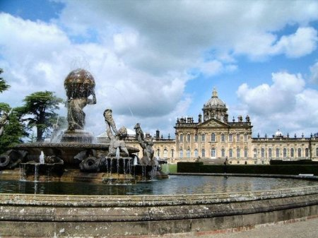 Замки Англии Касл-Ховард (Castle HOWARD