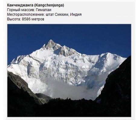 Опасные горы