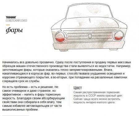 Тюнинг авто в СССР и России