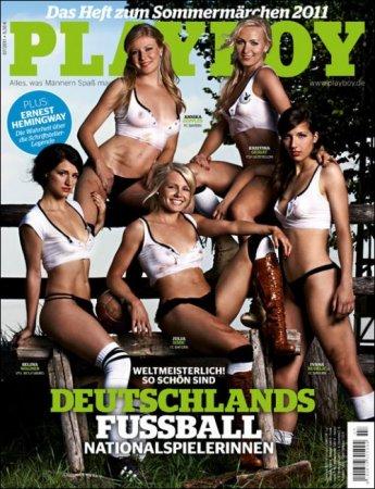 Немецкие олимпийские спортсменки в журнале Playboy